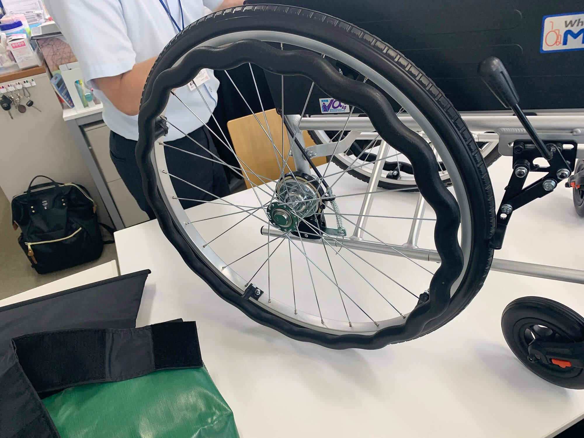 改良された車椅子のハンドル