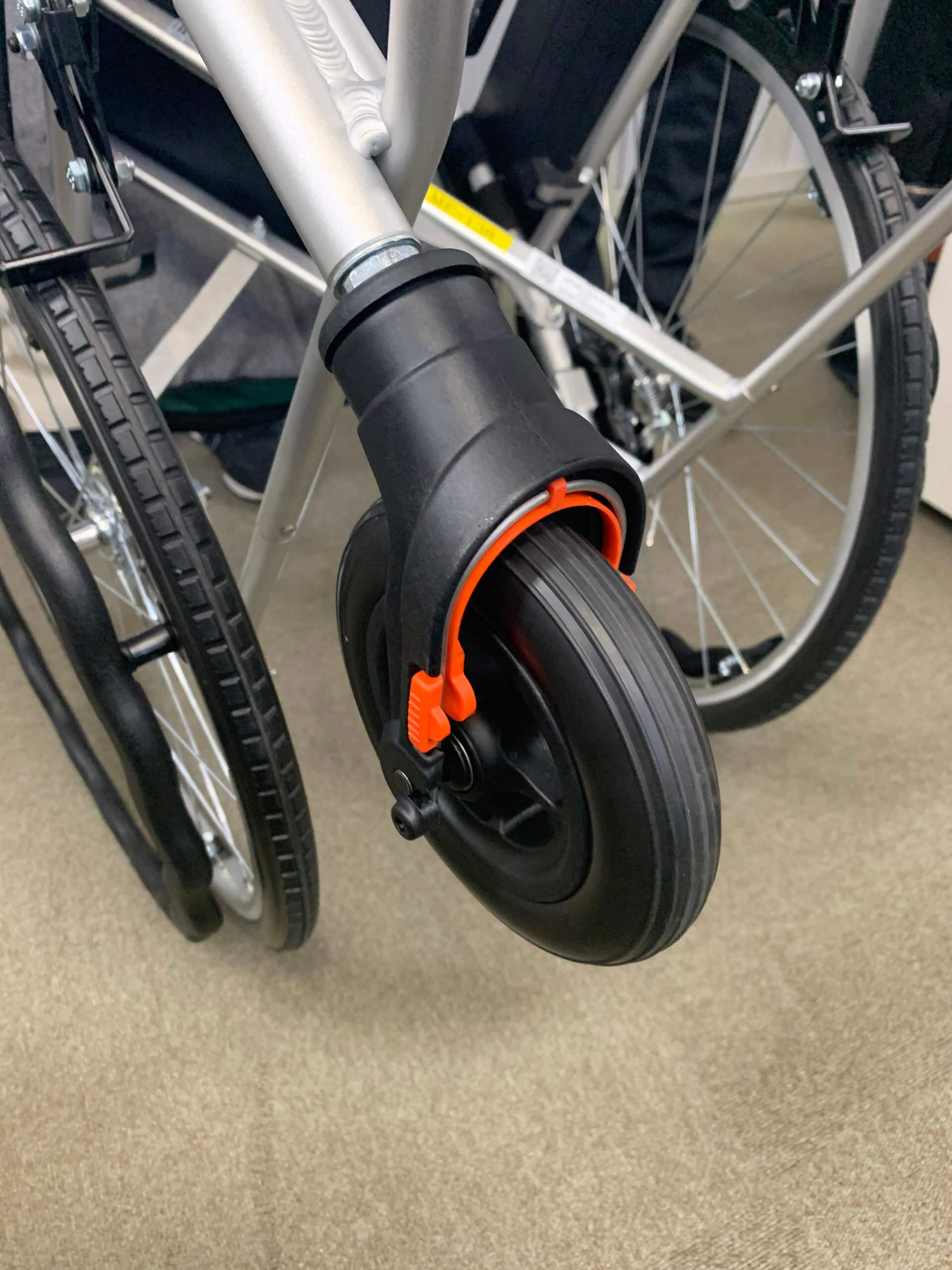 改良された車椅子の前輪